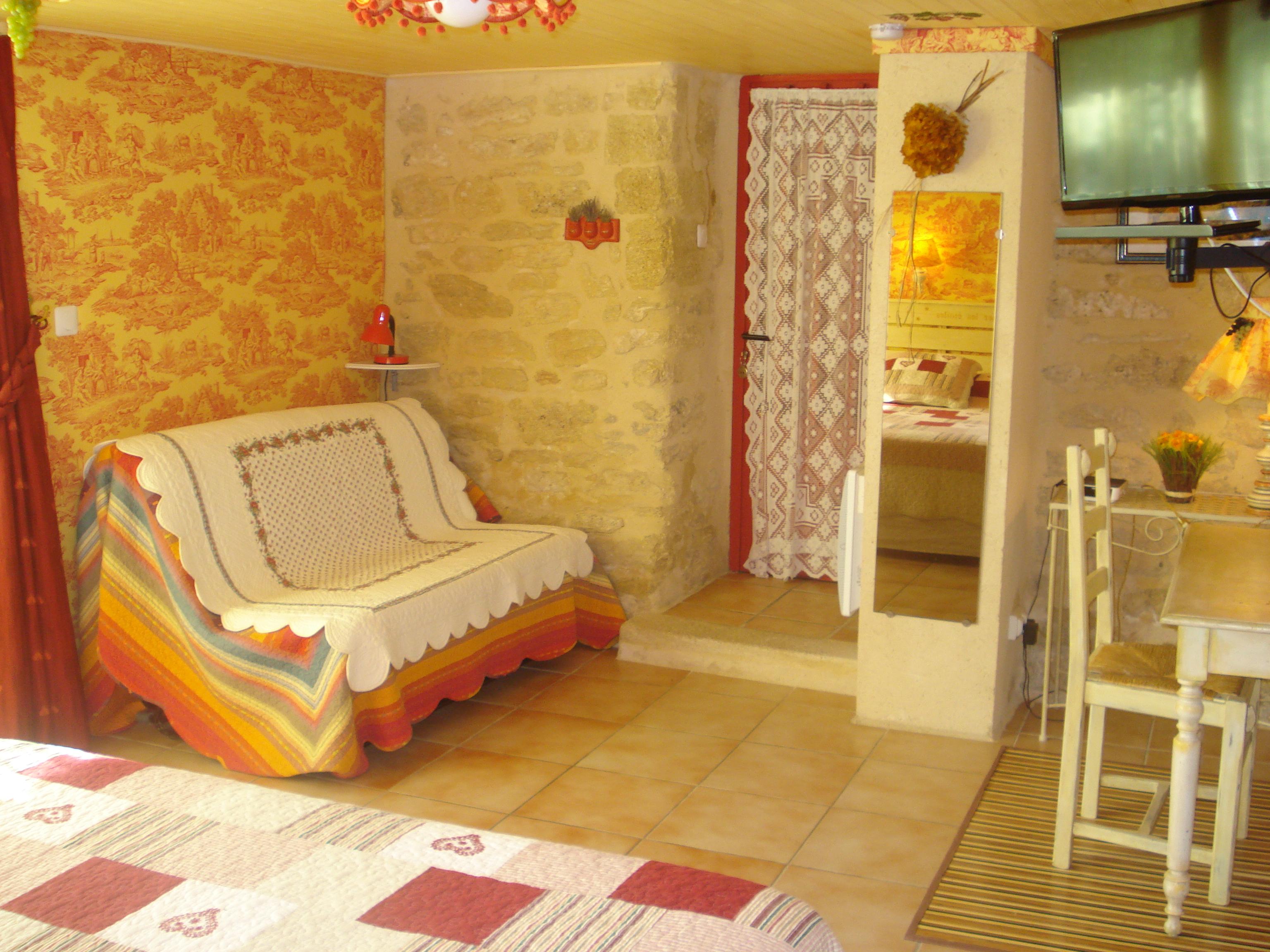 Location de chambres d 39 h tes de charme castillon du gard - Chambre d hote castillon du gard ...